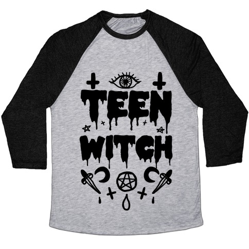 Teen Witch Baseball Tee