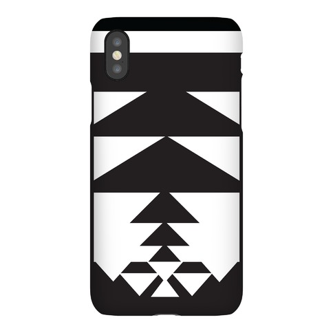 Black and White Aztec Case Phone Case