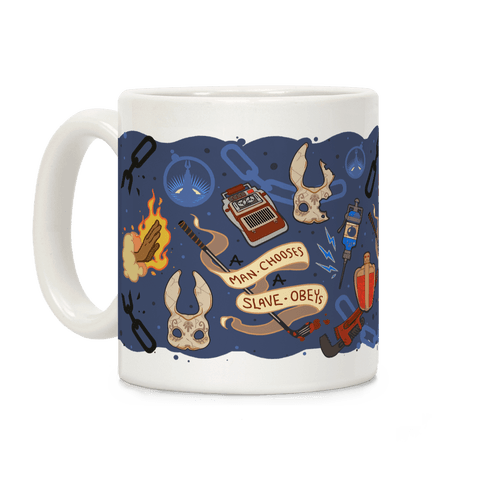 Bioshock Pattern Coffee Mug