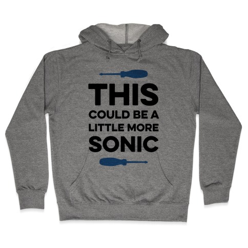 This Could Be A Little More Sonic Hooded Sweatshirt