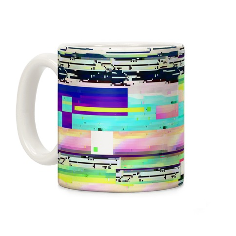 Glitch Screen Coffee Mug