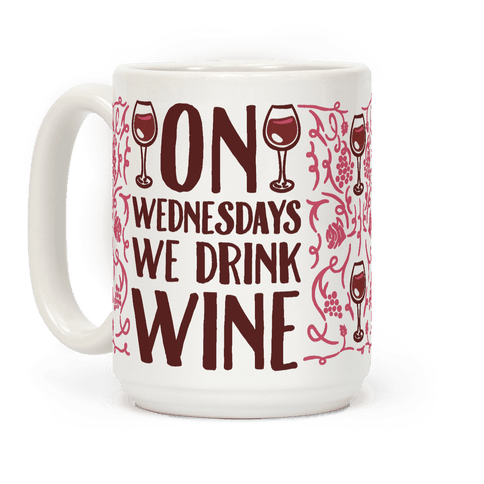 On Wednesdays We Drink Wine