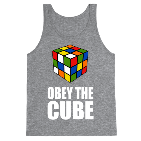 Obey the Cube (Juniors) Tank Top