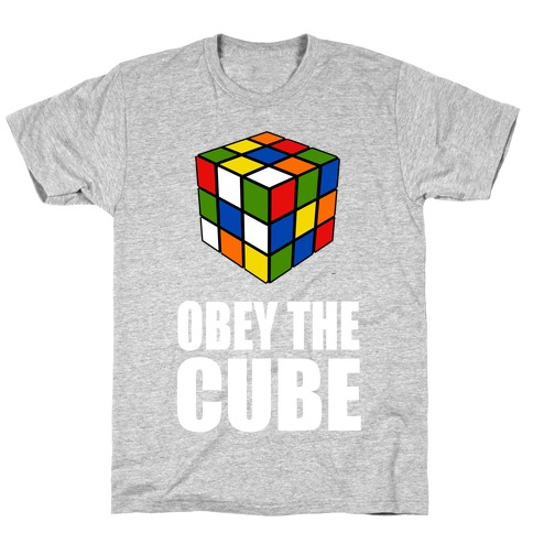 Obey the Cube (Juniors) T-Shirt