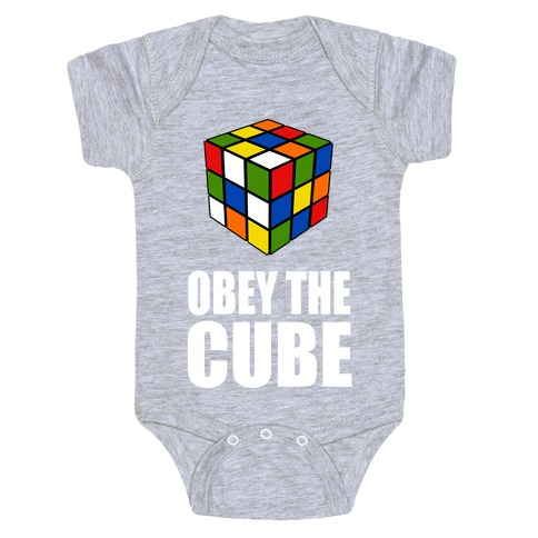 Obey the Cube (Juniors) Baby Onesy