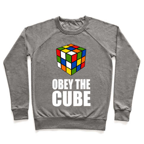 Obey the Cube (Juniors) Pullover