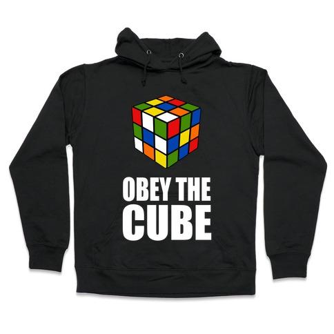Obey the Cube (Juniors) Hooded Sweatshirt