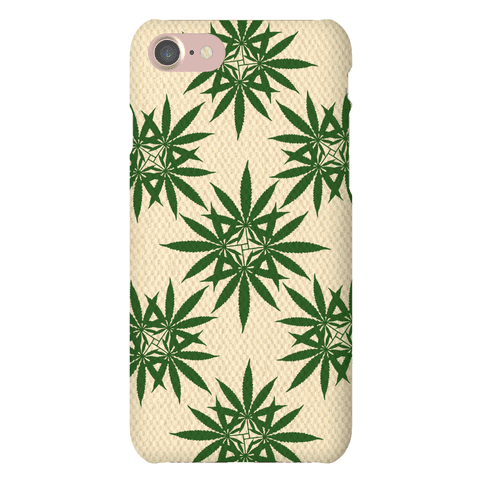 Weed Pattern Phone Case