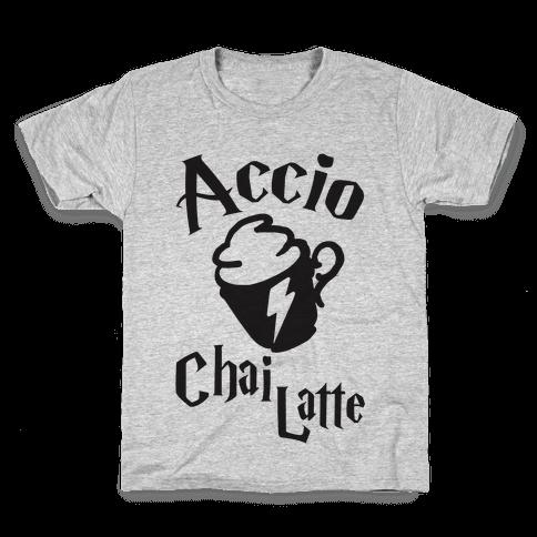 Accio Chai Latte Kids T-Shirt