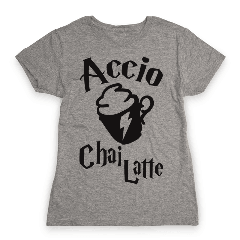 Accio Chai Latte Womens T-Shirt