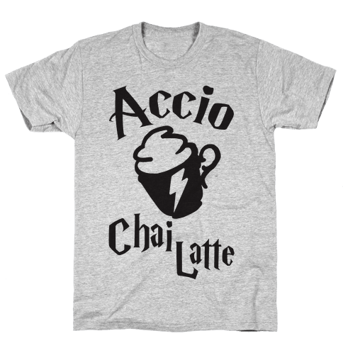 Accio Chai Latte Mens T-Shirt