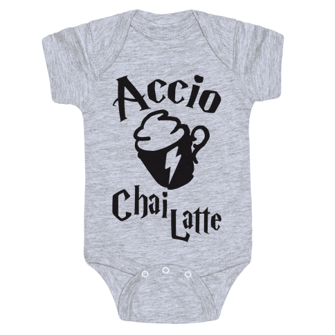 Accio Chai Latte Baby Onesy