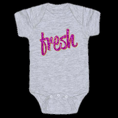 Leopard Fresh Baby Onesy