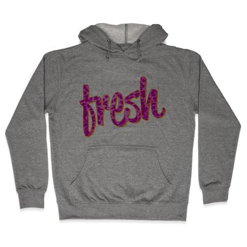 Leopard Fresh Hooded Sweatshirt