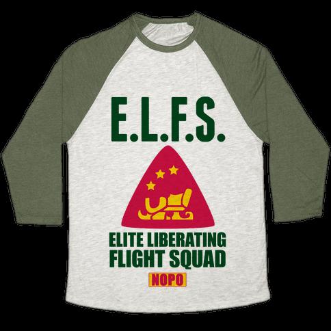 E.L.F. Squad Baseball Tee