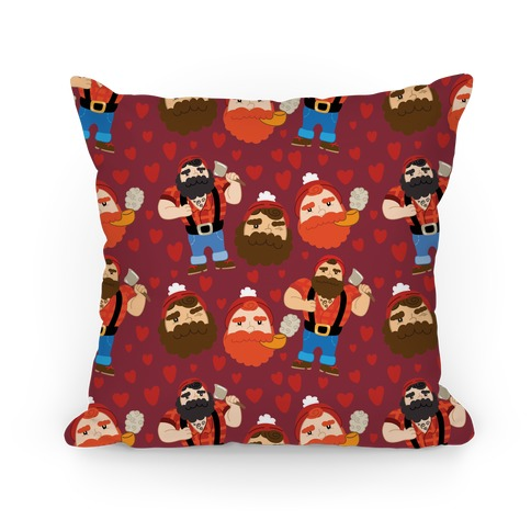 Lumberjack Love Pillow
