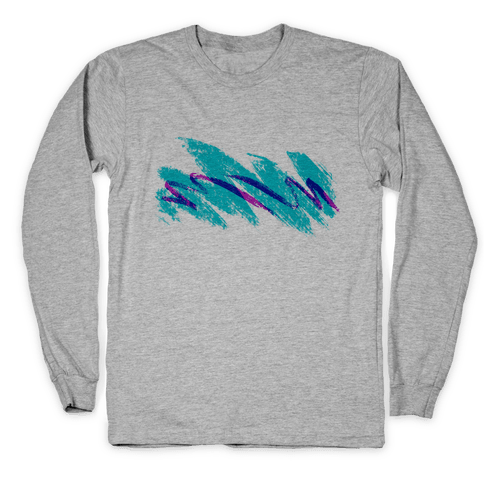 90s Jazz Wave Long Sleeve T-Shirt