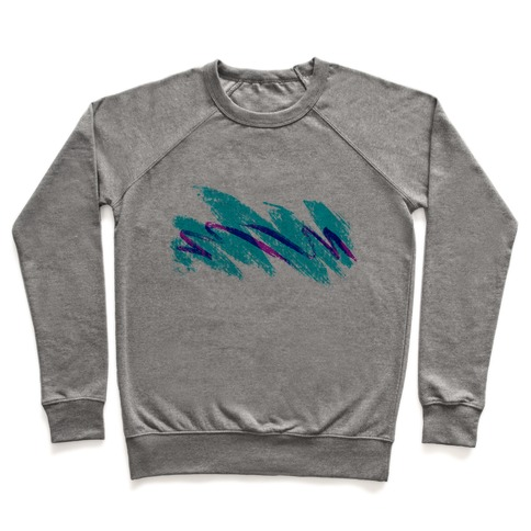 90s Jazz Wave Pullover