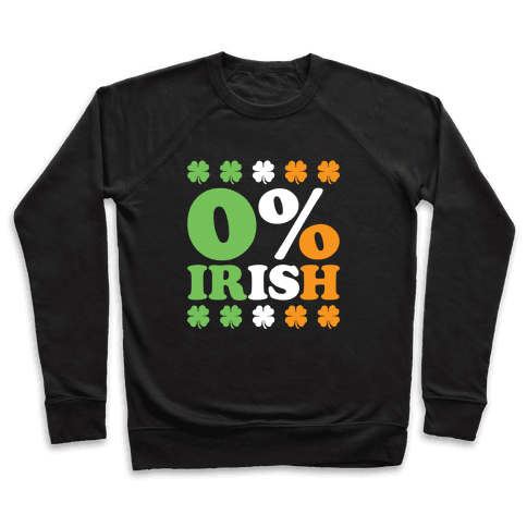 Zero Percent Irish Pullover