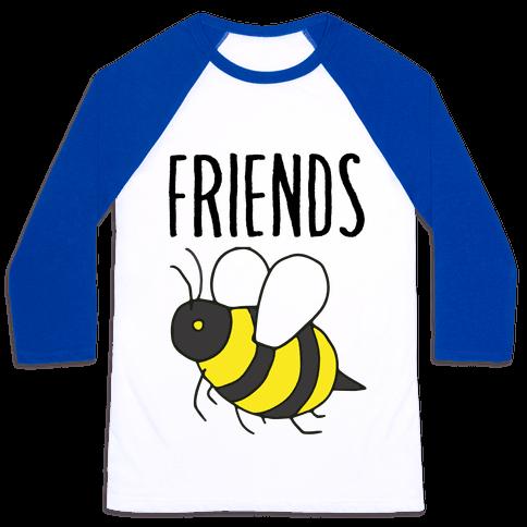 Best Friends: Bee Baseball Tee