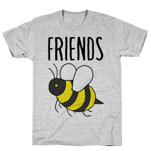 Best Friends: Bee Mens T-Shirt