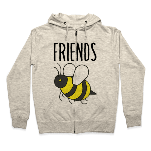 Best Friends: Bee Zip Hoodie