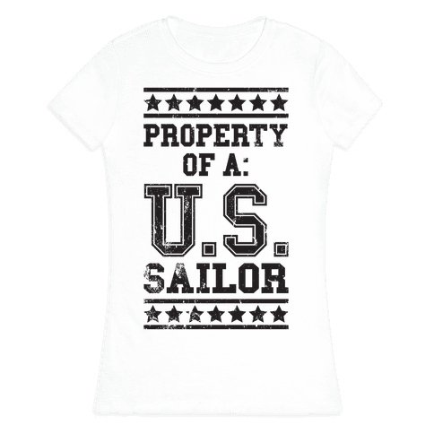 Property Of A U.S. Sailor Womens T-Shirt