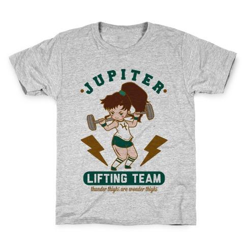 Jupiter Lifting Team Workout Parody Kids T-Shirt