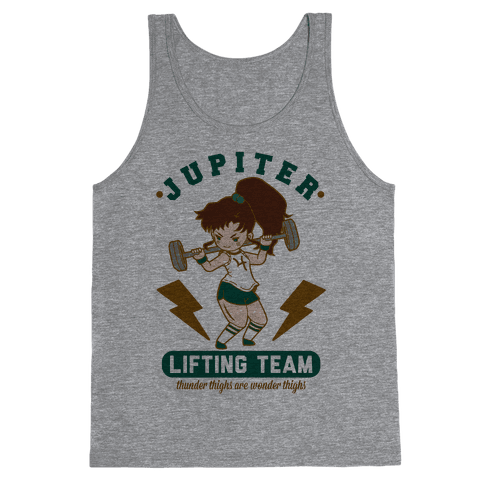 Jupiter Lifting Team Workout Parody Tank Top