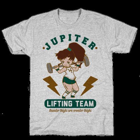 Jupiter Lifting Team Workout Parody Mens/Unisex T-Shirt