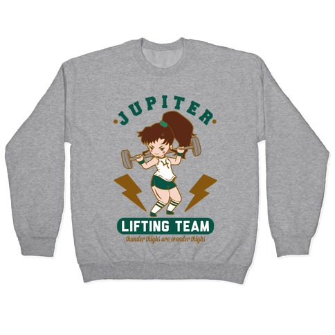 Jupiter Lifting Team Workout Parody Pullover