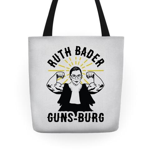 Ruth Bader Guns-Burg Tote