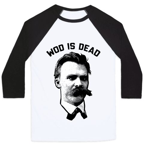 WOD is Dead Baseball Tee