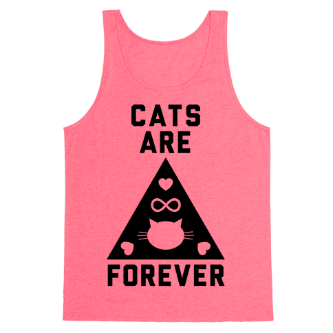 Cats Are Forever Tank Top