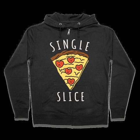 Single Slice Zip Hoodie
