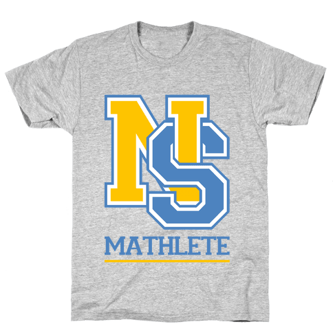North Shore High Mathlete Mens T-Shirt
