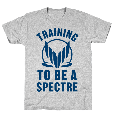 Training To Be A Spectre (Paragon) Mens T-Shirt