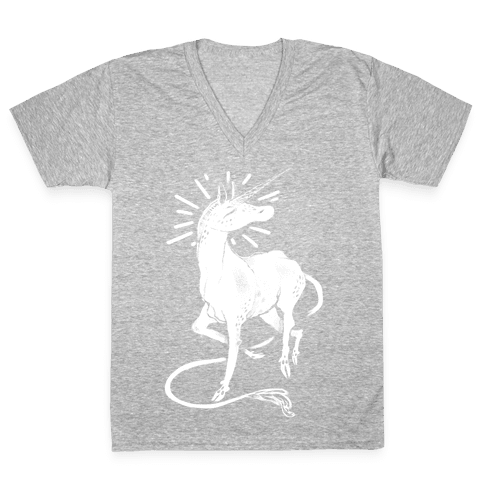 Unicorn Dust V-Neck Tee Shirt
