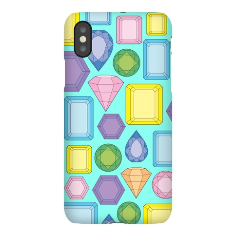 Gem Pattern Phone Case