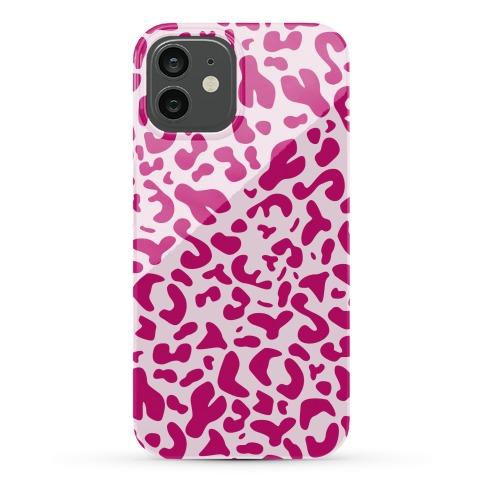 Pink Leopard Print Case Phone Case