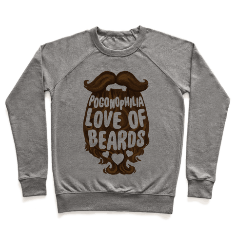 Pogonophilia: The Love Of Beards Pullover