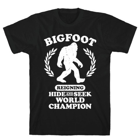 Hide And Seek Champion Mens T-Shirt