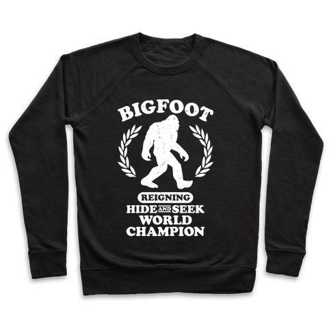 6d758f1f1 Hide And Seek Champion Crewneck Sweatshirt | LookHUMAN