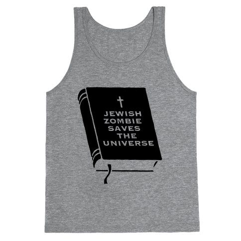 Jewish Zombie Tank Top