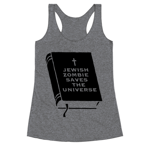 Jewish Zombie Racerback Tank Top