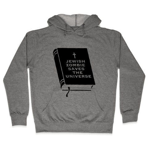 Jewish Zombie Hooded Sweatshirt