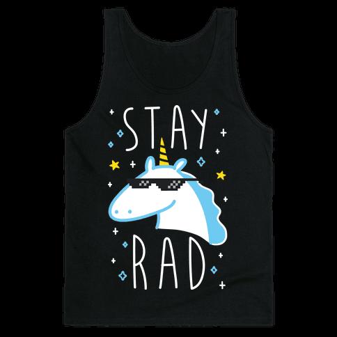 Stay Rad Unicorn Tank Top