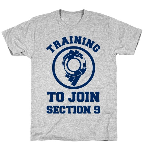 Training To Join Section 9 Mens T-Shirt