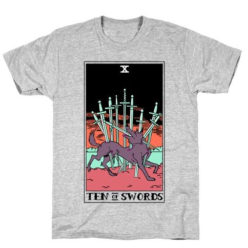 The Ten Of Swords T-Shirt