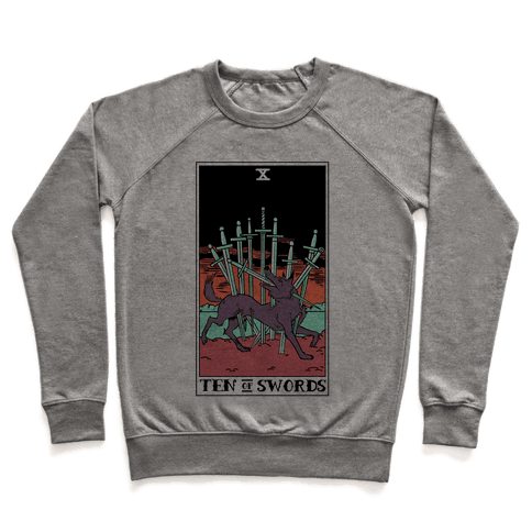 The Ten Of Swords Pullover